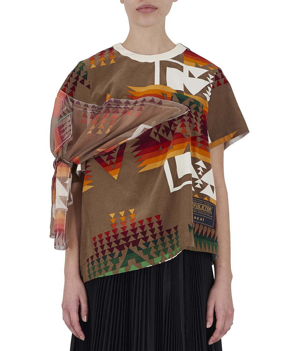 PENDLETON PRINTED TOP